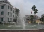 Hệ thống đài phun nước UBND phường Đình Bảng, thị xã Từ Sơn, Bắc Ninh