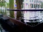 Bảo tàng Phụ nữ Việt Nam hệ thống đài phun nước, sân vườn, tường rào, bể cảnh