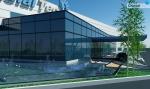 Hệ thống đài phun nước bể phun tràn trụ sở Crucial Tech Group Korea
