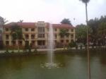 Đài phun nước tại Trụ sở công an Yên Bái