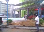 Hệ thống vòi phun nước tại Thủy điện miền Trung