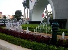 Hệ thống vòi phun nước tại Trụ sở tài chính công thương Thái Bình