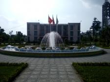 Đài phun nước tại Công ty than Đông Triều