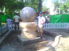 Thiết kế đài phun nước tại Ecopark 209 Vườn Tùng