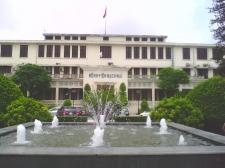 Đài phun nước bệnh viện Bạch Mai