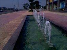 Thiết kế vòi phun nước tại Vincom RiverSide